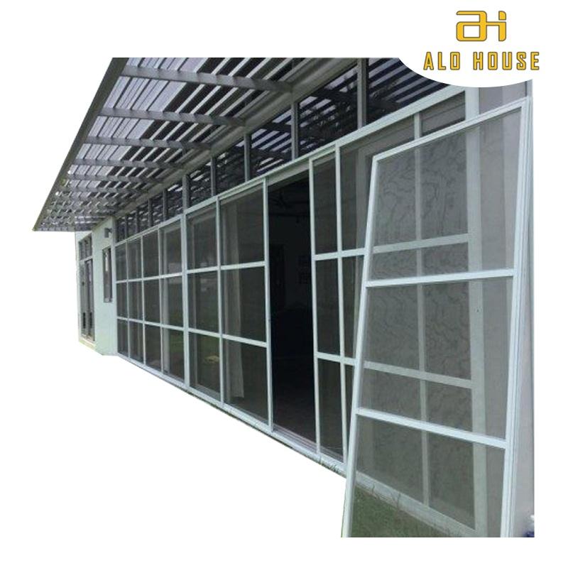 Cửa lưới chống muỗi và côn trùng cố định hệ dày Alo House 01 MSP SWD-D